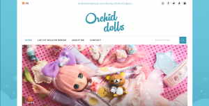 orchid dolls home