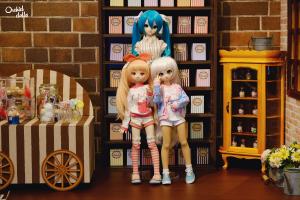volks Doll Point, Dollfie Dream Miku Hatsune, Mini Dollfie Dream