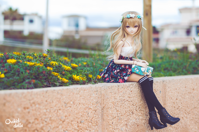 Dollfie Dream Miki Hoshii Coco outside
