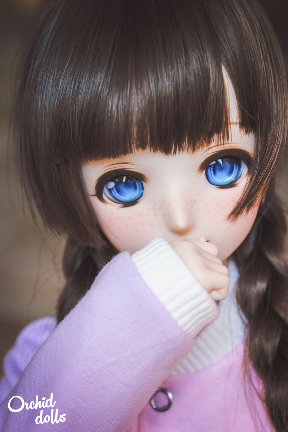Custom Dollfie Dream M.O.M.O. Melocotón retrato pecas