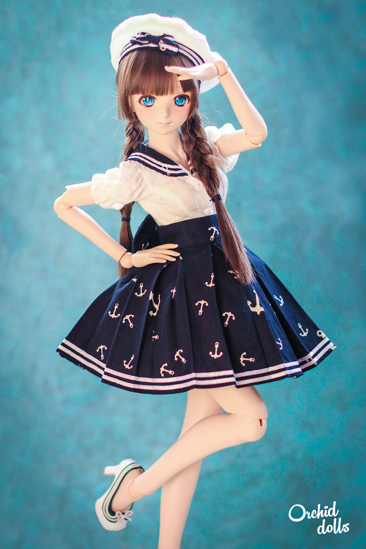 custom Dollfie Dream sailor lolita