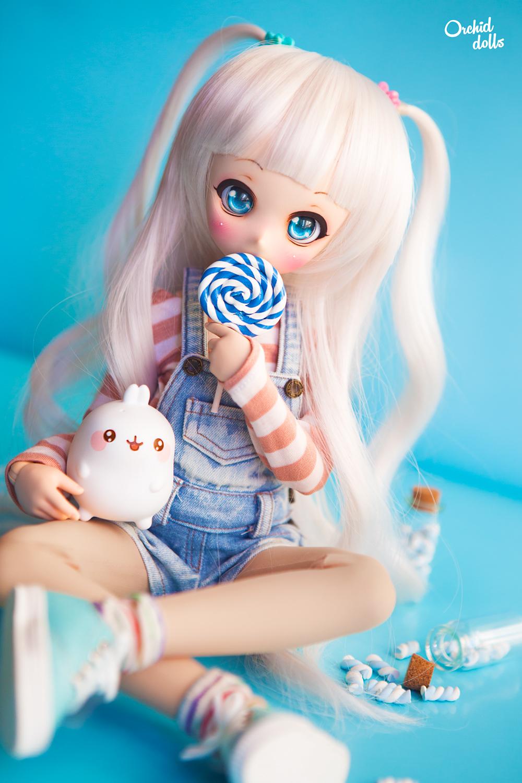 Mini Dollfie Dream Nebula kawaii Molang