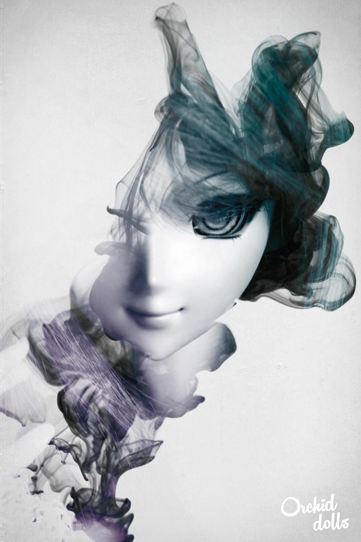 Dollfie Dream Beatrice Yuuko photoshop tinta