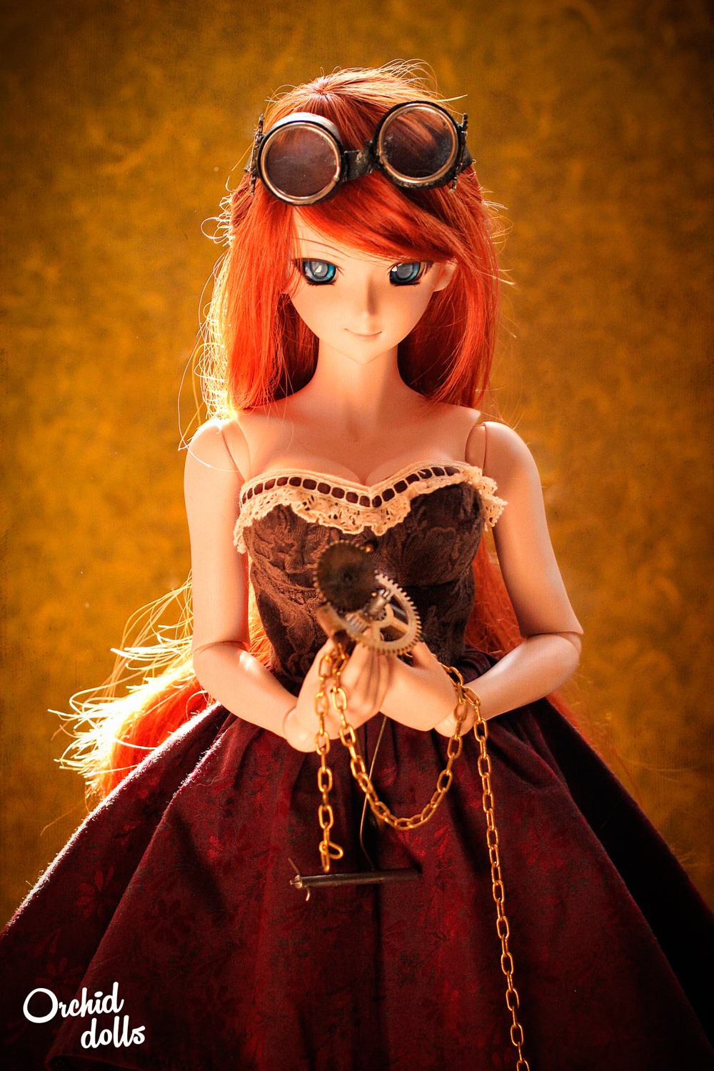Dollfie Dream Beatrice Yuuko Steampunk fashion